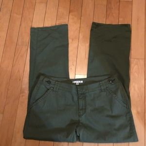 CAbi olive green pants